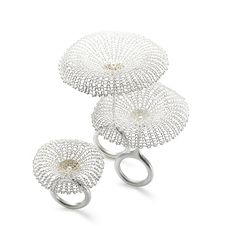 Rings, conceptual jewelry made by Sowon Joo (Korea).