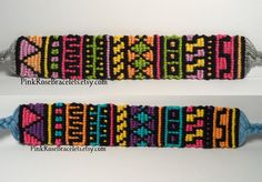 Custom Tribal friendship bracelet - pick your own colors and create your own bracelet - unique jewelry