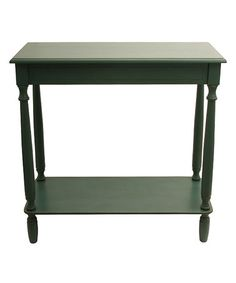 Love this Teal Antique-Inspired Rectangle Console on #zulily! #zulilyfinds