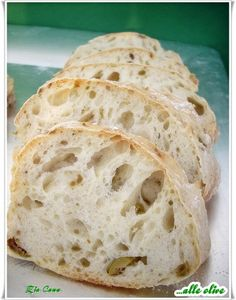 Bread Recipes, Baking Recipes, Soup Recipes, Ciabatta, Confort Food, No Knead Bread, Biscotti, Bread Baking, Italian Recipes
