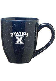 Xavier Musketeers 16oz Stainless Steel Travel Mug