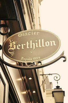 Glacier Berthillon (29-31 rue saint Louis en l'ile) auf der Ile Saint Louis: Das beste Eis in Paris