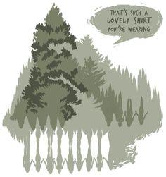 """Whispering Forest"" by Alixandra Bamford"