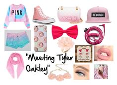 """""""Meeting Tyler Oakley"""" by deez-skittles-tho on Polyvore featuring polyvore, fashion, style, Chicnova Fashion, Converse, Moschino, Disney, Dettagli, Jardin des Orangers, women's clothing, women's fashion, women, female, woman, misses and juniors"""