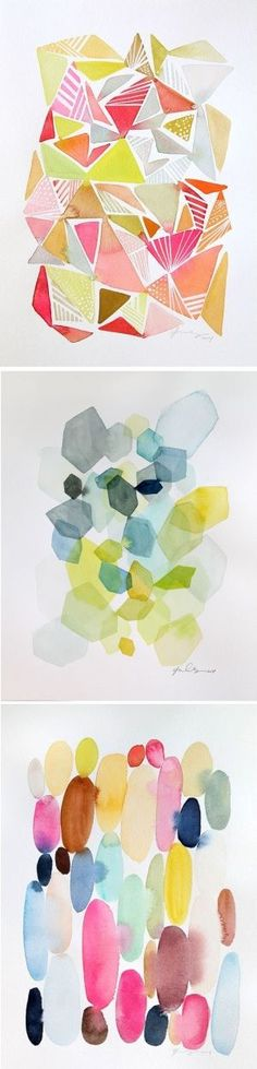 Beautifully bright & happy-making watercolors by Yao Cheng. On the blog! http://www.artisticmoods.com/yao-cheng/