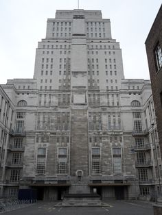 Senate House by Charles Holden in Bloomsbury, London (1932 – 1937)