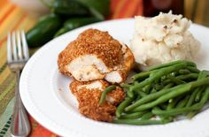 Jalapeno popper chicken. Sounds a little decadent but something I think I should make this weekend.