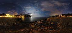 New free stock photo of sky lights water #freebies #FreeStockPhotos
