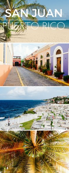 Puerto Rico - a perfect carribbean Getaway! Find great travel tips about San Juan and where to go and what do to!