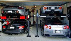 Maximize your garage space.