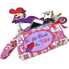 Check out Red Hat Society Wristlet Purse Phone Case Zipper Pouch Makeup Bag Wristlet Clutch Red Clutch Purple Purse Clutch Purse Gift for Her on sewsationalstitches