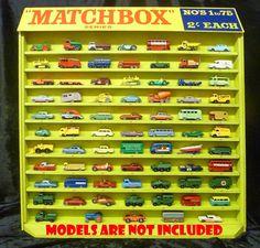 Matchbox Car Storage, Matchbox Cars, Corgi Toys, Vintage Hot Wheels, Metal Toys, Hot Wheels Cars, Diecast Model Cars, Car Shop, Classic Toys
