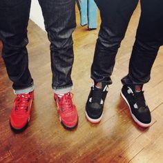 Air Jordan V Raging Bull, Air Jordan IV Bred, Levi's and Uniqlo jeans #streetstyle #sneakers #sneakerhead