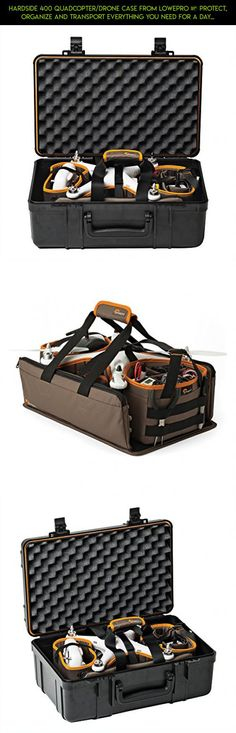 Hardside 400 Quadcopter/Drone Case From Lowepro – Protect, Organize and Transport Everything You Need For a Day Of Flying #350 #tech #standard #gadgets #dji #products #technology #phantom #drone #plans #kit #3 #camera #racing #parts #fpv #shopping