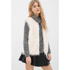 Blush Faux Fur Vest Stunning blush faux fur vest from Forever 21. Has only been worn one time, and is in pristine condition! ***I DO NOT DISCUSS PRICING IN THE COMMENTS. NO TRADES. Forever 21 Jackets & Coats Vests