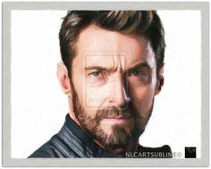 D-hugh Jackman Sublime Portrait Nlc Michael Art by NLCARTSUBLIME.deviantart.com on @deviantART