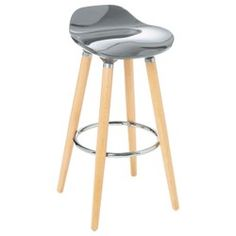 Norden Home Looking for high chairs to furnish your new kitchen? So think of this bar stool! This stool made of beech wood and metal, complement your interior. Structure Metal, Wood And Metal, New Kitchen, Bar Stools, Dimensions, Interior, High Chairs, Color, Home Decor