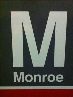 Monroe CTA Red Line Station