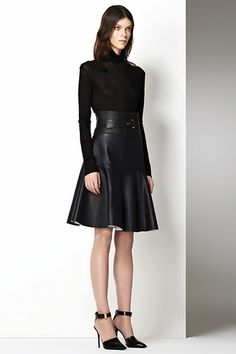 Holiday Leather: J Brand Torre Leather Skirt    #JBRANDHoliday #WMag