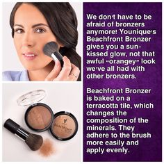 I love the sun kissed glow that Beachfront Bronzer gives me! CLICK ON PIC https://www.youniqueproducts.com/products/view/US-22401-00