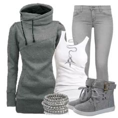 Cute and casual outfit