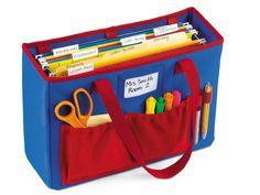 File holder teacher tote