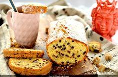 Plum cake con gocce di cioccolato e Cointreau