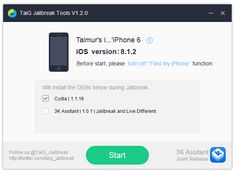 nice TiaG Jailbreak tool for iPhones and iPads Updated to work with iOS 8.1.2