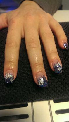 Blauw HW nails und Konad