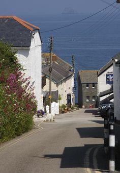 Portscatho - River Street - Cornwall Guide Photos