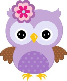 Purple Painted Cartoon Owl With Bow Owl Clip Art, Owl Art, Purple Owl, Purple Baby, Owl Wallpaper, Owl Crafts, Owl Patterns, Baby Owls, Baby Boy