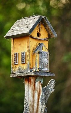 ♡ this birdhouse