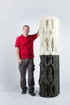 3D printed Column as a symbol for new architectural possibilities | 3D Printer News  3D Printing News