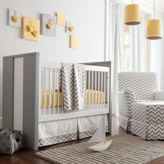 55+ Gray and Yellow Baby Room - Ideas to Decorate Bedroom Check more at http://davidhyounglaw.com/77-gray-and-yellow-baby-room-bedroom-window-treatment-ideas/