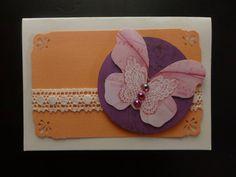 Spring butterfly card  #spring #card #jarní #přáníčka  #motýl