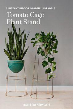 Indoor Outdoor, Indoor Planters, Diy Planters, Outdoor Gardens, Fall Planters, Plants Indoor, Modern Plant Stand, Diy Plant Stand, Wooden Plant Stands