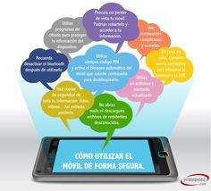 #Consejos para utilizar nuestro #móvil de forma segura