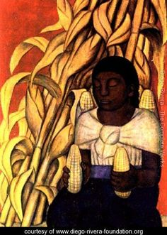 Corn - Diego Rivera - www.diego-rivera-foundation.org