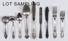 Wallace sterling silver Grand Victorian flatware s - Price Estimate: $800 - $1200