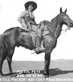 Frank Eaton aka Pistol Pete