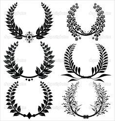 Laurels for tattoo