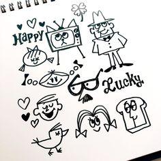 """doodlewonder: """"Today's Doodle! """""""