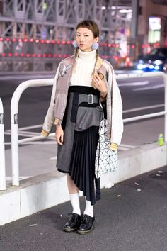 The Best Street Style From Fashion Week Tokyo