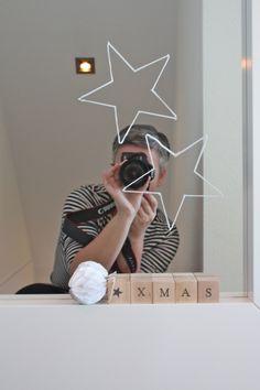 ster op de spiegel