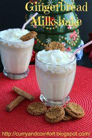 Curry and Comfort: Gingerbread Milkshake