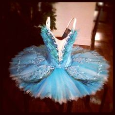 Bluebird Tutu: I love the color and detail on this one
