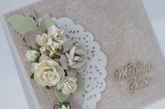 kartka na ślub, stylowa, pudełko, scrapbooking, prezent, papieroffka, w dniu ślubu