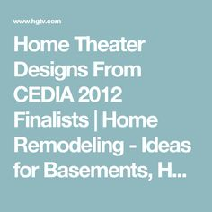 Amazing Home Theater Designs From Cedia Finalists With Home Theater  Furniture Houston.