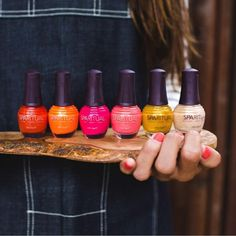 Feast your eyes on 6 juicy shades. SpaRitual's Gathering Collection is available at SpaRitual.com.