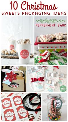 10 cute ideas for Christmas Baked Goods Packaging Ideas